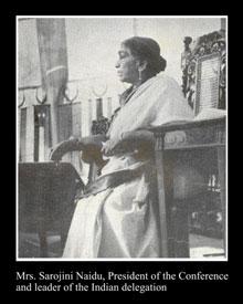Mrs. Sarojini Naidu